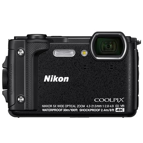 Coolpix W300 Camera in Black Product Image (Secondary Image 1)
