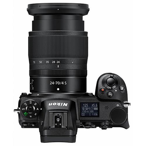 Z 6 Mirrorless Camera with Nikkor 24-70mm f/4 S Lens and FTZ Mount Adapter Product Image (Secondary Image 2)