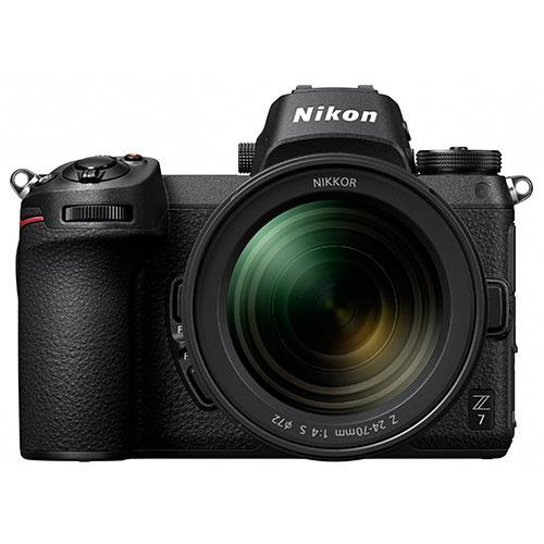 Z 7 Mirrorless Camera with Nikkor 24-70mm f/4 S Lens Product Image (Primary)