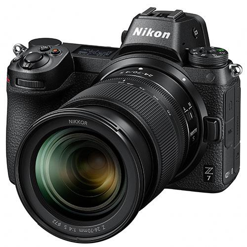 Z 7 Mirrorless Camera with Nikkor 24-70mm f/4 S Lens Product Image (Secondary Image 2)