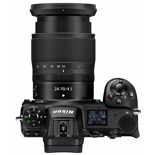 Z 7 Mirrorless Camera with Nikkor 24-70mm f/4 S Lens and FTZ Mount Adapter Product Image (Secondary Image 3)