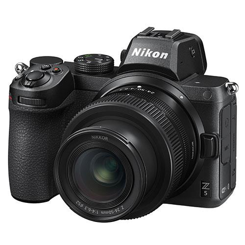 Z 5 Mirrorless Camera with Nikkor Z 24-50mm f/4-6.3 lens and FTZ Mount Adapter Product Image (Secondary Image 2)