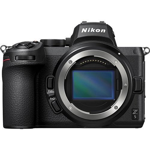 Z 5 Mirrorless Camera Body Product Image (Primary)
