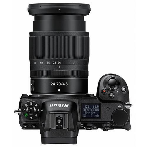 Z 7 Mirrorless Camera + 24-70mm f/4 S Lens, FTZ Mount Adapter and Nikon 64GB XQD Card Product Image (Secondary Image 4)