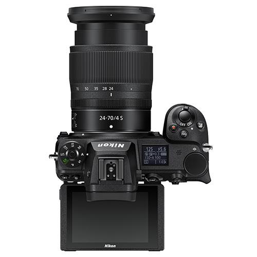 Z 6II Mirrorless Camera with Nikkor 24-70mm f/4 S Lens and FTZ Mount Adapter Product Image (Secondary Image 4)