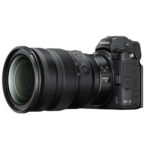 Z 7II Mirrorless Camera with Nikkor 24-70mm f/4 S Lens and FTZ Mount Adapter Product Image (Secondary Image 4)