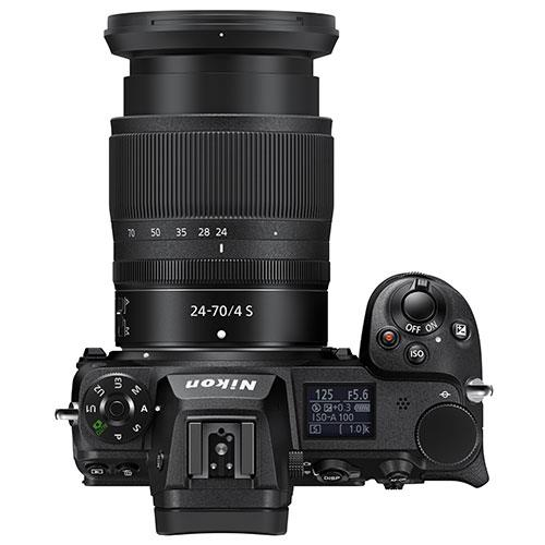 Z 7II Mirrorless Camera with Nikkor 24-70mm f/4 S Lens and FTZ Mount Adapter Product Image (Secondary Image 6)