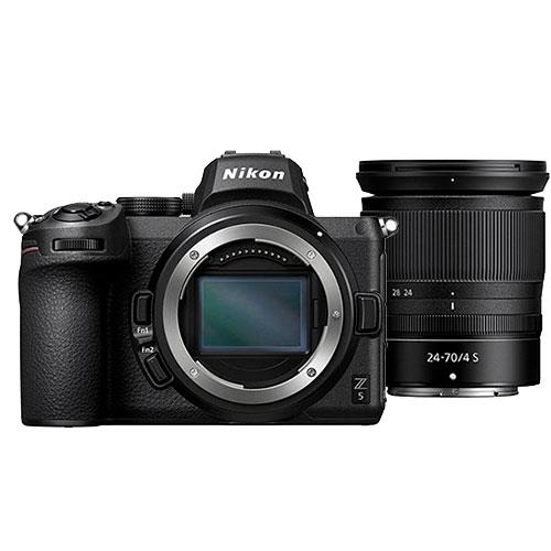 Z 5 Mirrorless Camera with Nikkor Z 24-70mm f/4 S Lens Product Image (Primary)