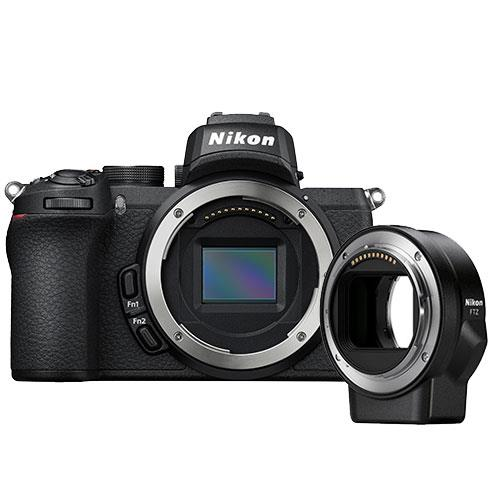 Z 50 Mirrorless Camera Body with FTZ Mount Product Image (Primary)