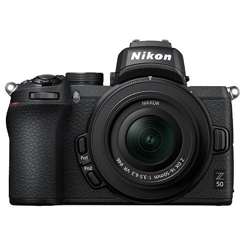 Z 50 Mirrorless Camera with DX 16-50mm VR Lens and FTZ Mount Product Image (Secondary Image 1)