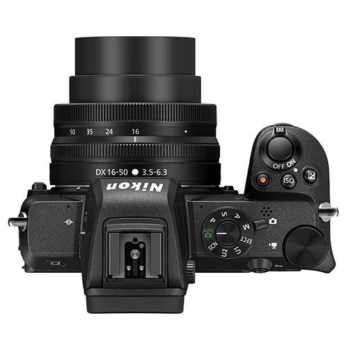 Z 50 Mirrorless Camera with DX 16-50mm VR Lens and FTZ Mount Product Image (Secondary Image 5)