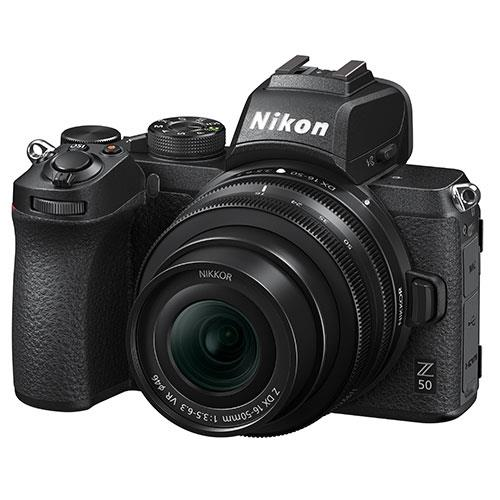 Z 50 Mirrorless Camera with DX 16-50mm VR Lens and FTZ Mount Product Image (Secondary Image 6)
