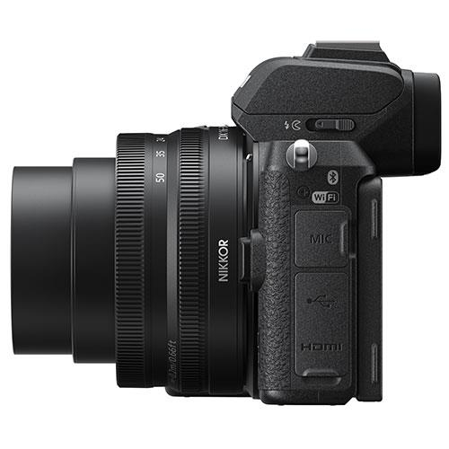 Z 50 Mirrorless Camera with DX 16-50mm VR Lens and FTZ Mount Product Image (Secondary Image 8)