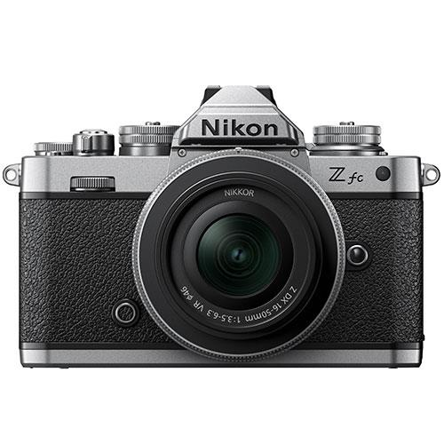Z fc Mirrorless Camera with Z DX 16-50mm f/3.5-6.3 Lens Product Image (Primary)