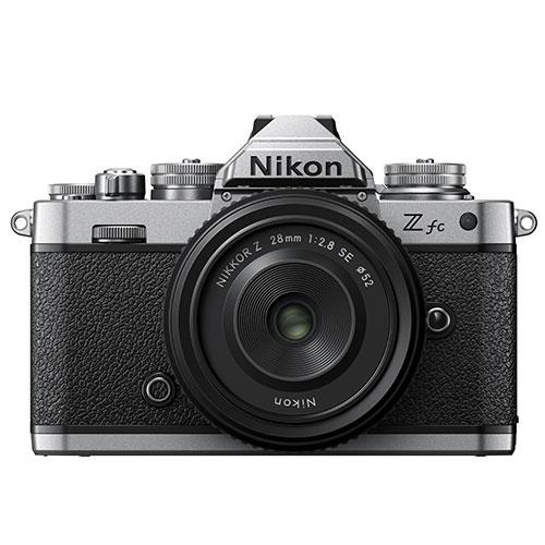 Z fc Mirrorless Camera with Z 28mm f/2.8 SE Lens Product Image (Primary)
