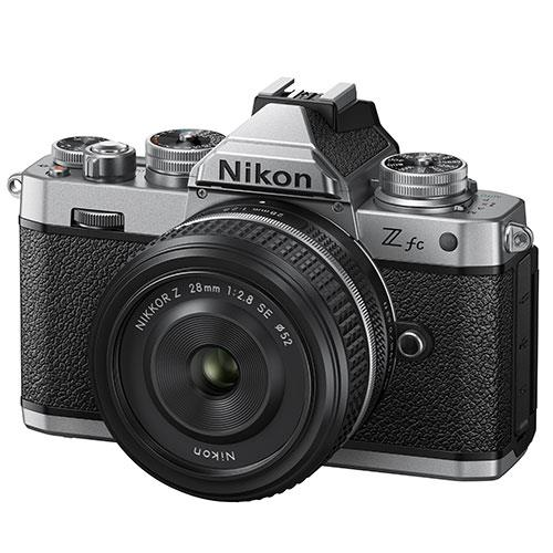 Z fc Mirrorless Camera with Z 28mm f/2.8 SE Lens Product Image (Secondary Image 1)