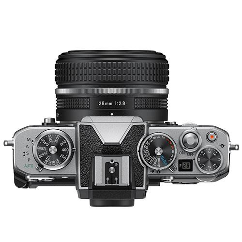 Z fc Mirrorless Camera with Z 28mm f/2.8 SE Lens Product Image (Secondary Image 3)