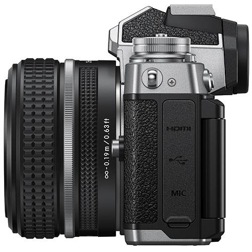 Z fc Mirrorless Camera with Z 28mm f/2.8 SE Lens Product Image (Secondary Image 5)