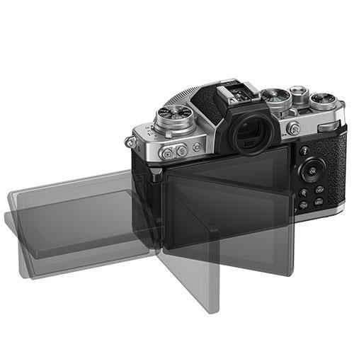 Z fc Mirrorless Camera with Nikkor Z DX 16-50mm and Z DX 50-250mm Lenses Product Image (Secondary Image 3)