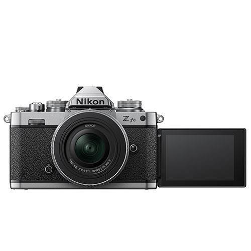 Z fc Mirrorless Camera with Nikkor Z DX 16-50mm and Z DX 50-250mm Lenses Product Image (Secondary Image 4)