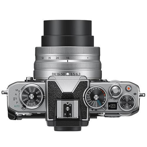 Z fc Mirrorless Camera with Nikkor Z DX 16-50mm and Z DX 50-250mm Lenses Product Image (Secondary Image 5)