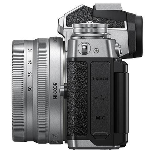 Z fc Mirrorless Camera with Nikkor Z DX 16-50mm and Z DX 50-250mm Lenses Product Image (Secondary Image 6)