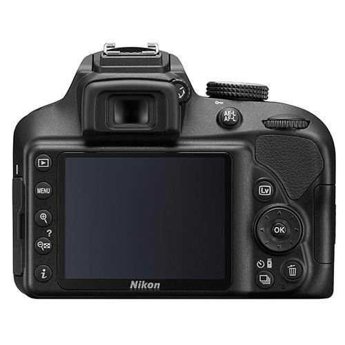 A picture of Nikon D3400 Digital SLR Body