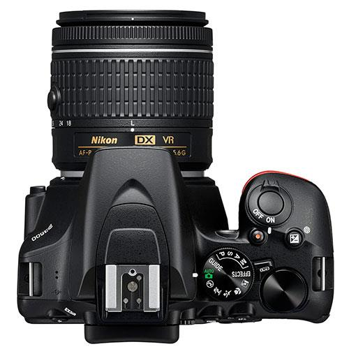 D3500 Digital SLR in Black with 18-55mm f/3.5-5.6 AF-P VR Lens Product Image (Secondary Image 3)