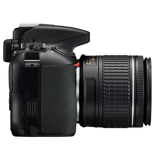 D3500 Digital SLR in Black with 18-55mm f/3.5-5.6 AF-P VR Lens Product Image (Secondary Image 4)