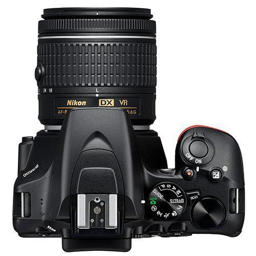 D3500 Digital SLR Camera with AF-P VR 18-55mm and 70-300mm Lenses Product Image (Secondary Image 3)