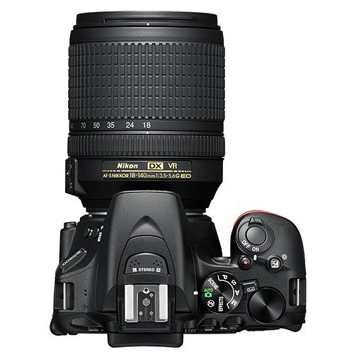 D5600 Digital SLR + 18-140mm f/3.5-5.6 G ED VR Lens Product Image (Secondary Image 1)