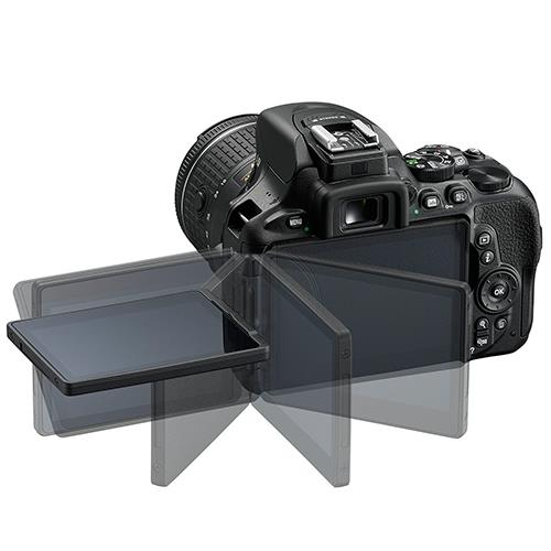 D5600 Digital SLR + 18-55mm f/3.5-5.6 AF-P VR Lens Product Image (Secondary Image 3)