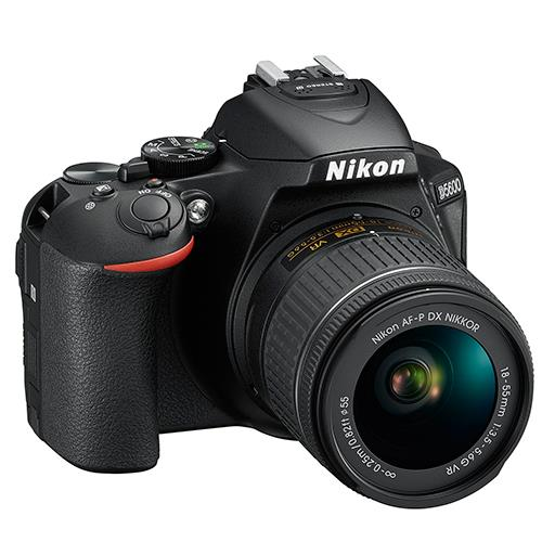 D5600 Digital SLR + 18-55mm f/3.5-5.6 AF-P VR Lens Product Image (Secondary Image 4)