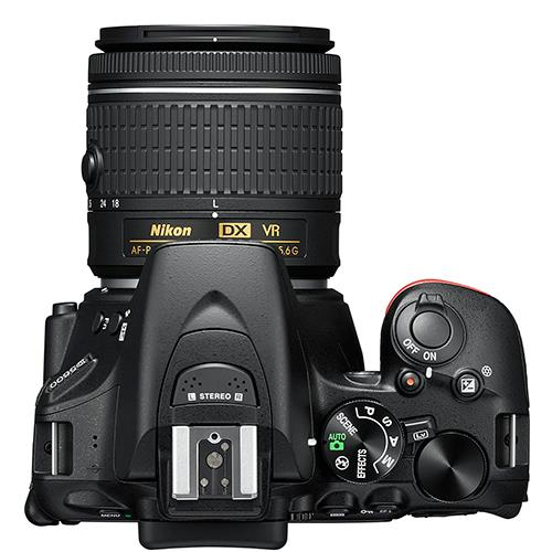 D5600 Digital SLR + 18-55mm f/3.5-5.6 AF-P VR Lens Product Image (Secondary Image 5)