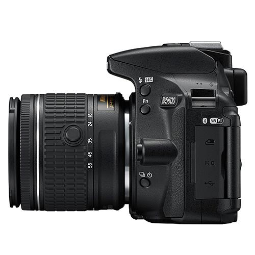 D5600 Digital SLR + 18-55mm f/3.5-5.6 AF-P VR Lens Product Image (Secondary Image 7)