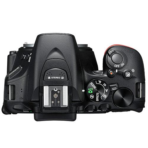 D5600 Digital SLR Body in Black Product Image (Secondary Image 2)