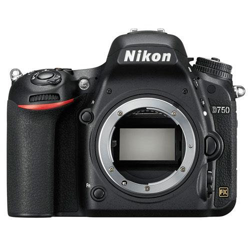 D750 Digital SLR Body Product Image (Primary)