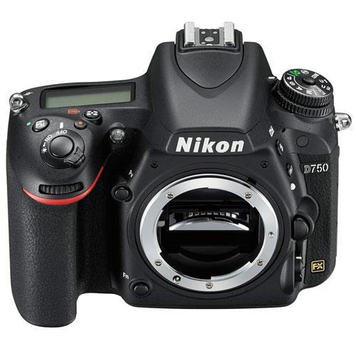 D750 Digital SLR Body Product Image (Secondary Image 1)