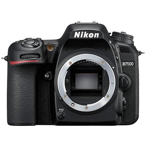 D7500 Digital SLR Body Product Image (Primary)
