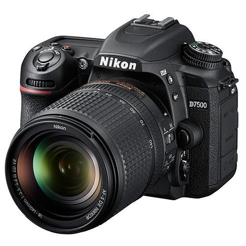 D7500 Digital SLR + 18-140mm Lens Product Image (Primary)