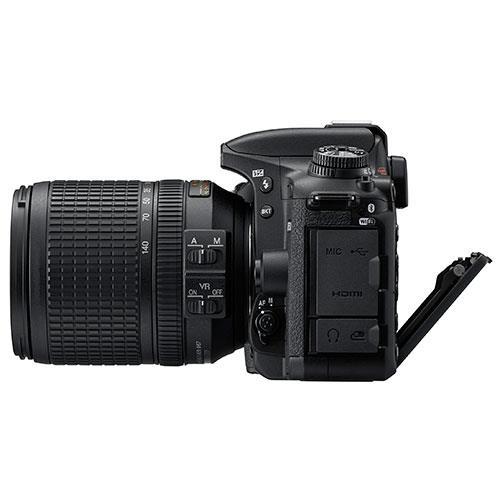 D7500 Digital SLR + 18-140mm Lens Product Image (Secondary Image 4)