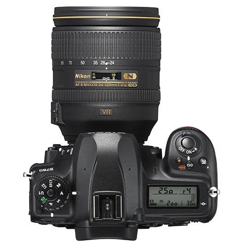 D780 Digital SLR with AF-S 24-120 f/4 G ED VR Lens Product Image (Secondary Image 2)