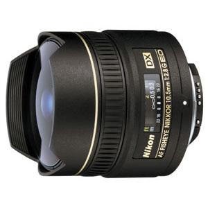 10.5mm AF f/2.8G ED DX Fisheye Product Image (Primary)