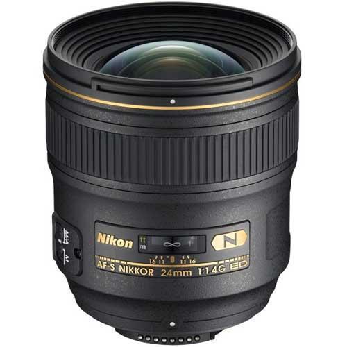 AF-S 24mm f1.4G ED Lens Product Image (Primary)