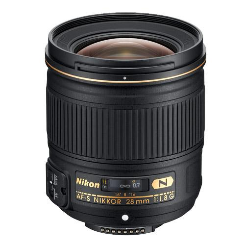 AF-S Nikkor 28mm f/1.8G Lens  Product Image (Primary)