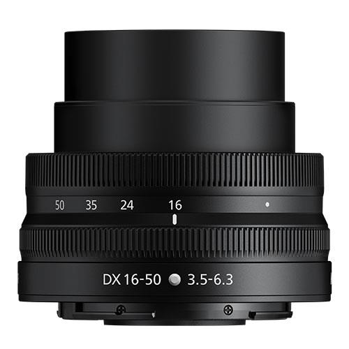 NIKKOR Z DX 16–50mm f/3.5–6.3 VR Lens Product Image (Secondary Image 1)