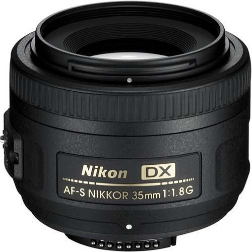 AF-S 35mm f1.8 G DX Lens Product Image (Primary)