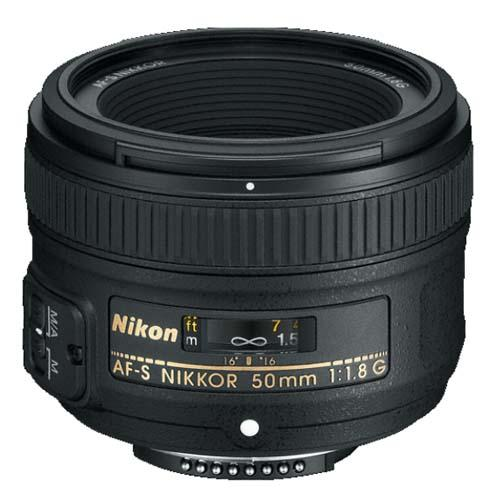 NIKON AFS 50MM F1.8G LENS Product Image (Primary)