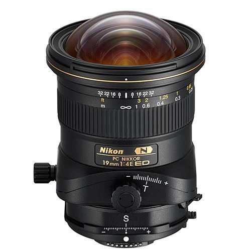 PC NIKKOR 19mm f/4E ED Tiilt-Shift Lens Product Image (Primary)