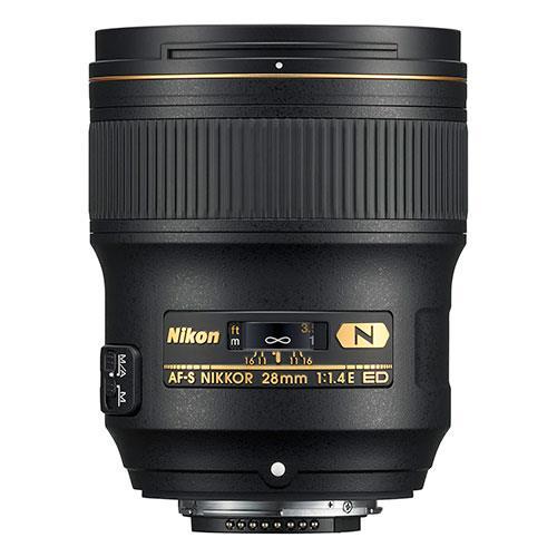 AF-S NIKKOR 28mm f/1.4E ED Lens Product Image (Secondary Image 1)